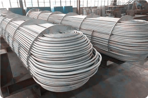 U type heat exchanger tube